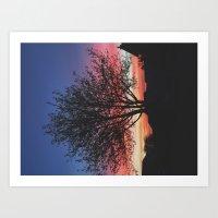 Scottish Sunrise Art Print