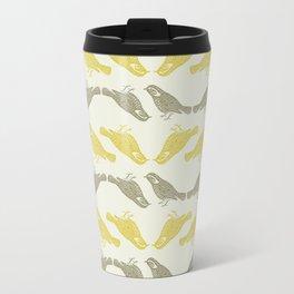 Little Bird (gold) Travel Mug
