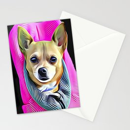 Pocket Chihuahua Stationery Cards