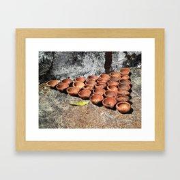 Diyas Framed Art Print