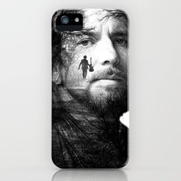 EddieVedder Poster iPhone Case