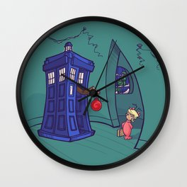Cindy Lou WHO Wall Clock