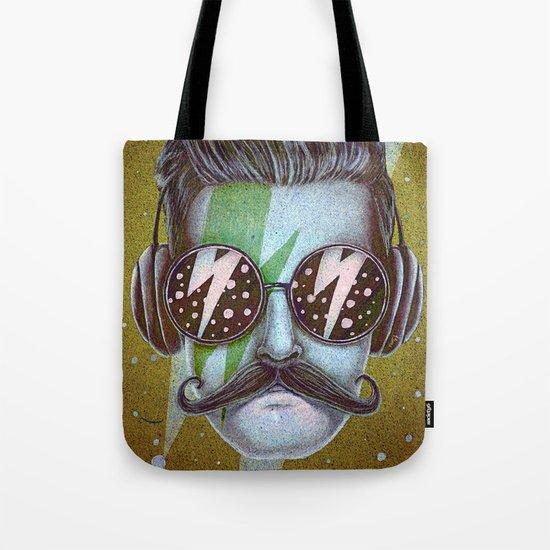 Dude (green) Tote Bag