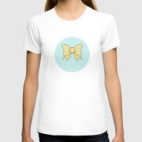 bows T-shirts featuring lonely bows 5  by Ambers Illustration
