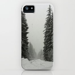 Winter Mountains Snow iPhone Case