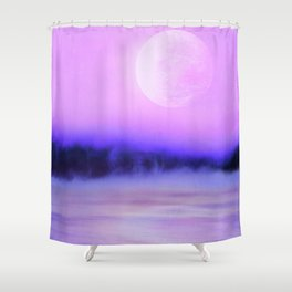 Futuristic Visions 02 Shower Curtain
