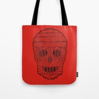 horror Tote Bags featuring horror by creaziz