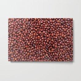 Red adzuki beans Metal Print