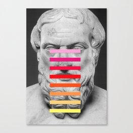 Sculpture With A Spectrum 2 Canvas Print