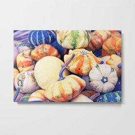 Time of Pumkins Metal Print