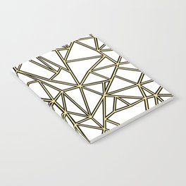 Ab Blocks White Gold Notebook