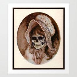 Cowgirl Kid - Thrift Store Creepin' Art Print