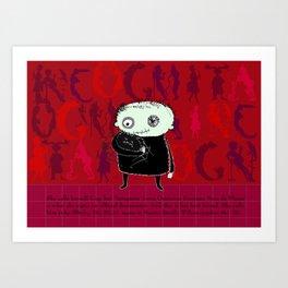 Heroine Protagonist Art Print
