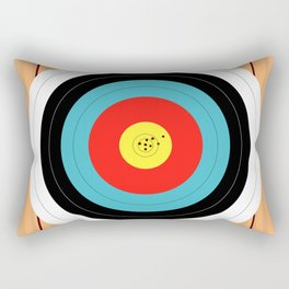 Shooting Target Rectangular Pillow