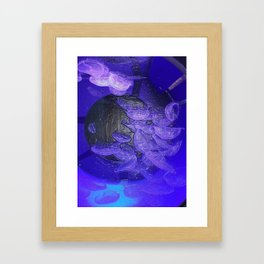 Acrylic Jelly Fish Framed Art Print