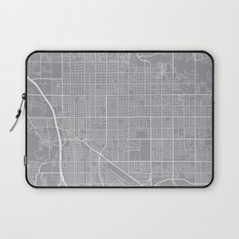 Tucson Map, Arizona USA - Pewter Laptop Sleeve