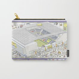 Itaquera Soccer Arena, Sao Paulo, Brazil Carry-All Pouch
