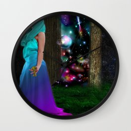 Keeper of the universe Wall Clock