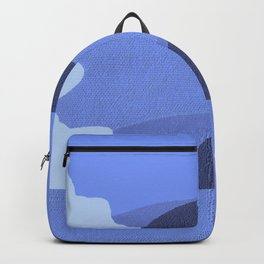 Blue Retro Waves Backpack