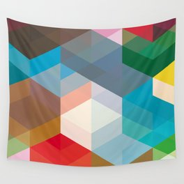 Triangles and more shapes Wall Tapestry
