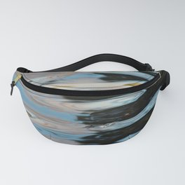Abstract Water Surface Fanny Pack