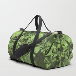 Cool Green of Summer Duffle Bag