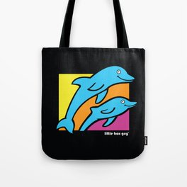 Dolphins. Tote Bag