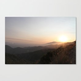 Summer Atmosphere 5 Canvas Print
