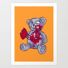 Give me your heart, give me your soul Art Print