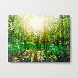 Impressions: Forest Metal Print