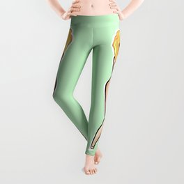Apple Jack (MLP fan art) Leggings