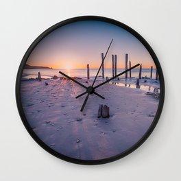 Port Willunga Sunset Wall Clock