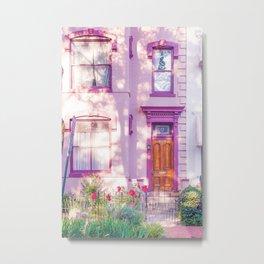 Washington DC neighborhoods - Eastern Market Street & Capitol Hill, dc local art Metal Print