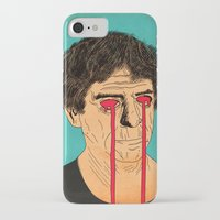 lou reed iPhone & iPod Cases featuring You, Me and Lou Reed by Roland Lefox