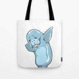 Dabbing Manatee Funny Sea Cow Dab Dance Tote Bag