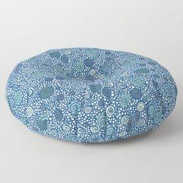 Pebbles and Shells Floor Pillow