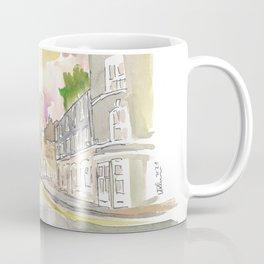 York Yorkshire Old Town Micklegate Street Scene Coffee Mug