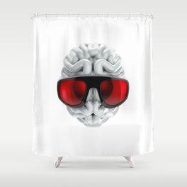 Keep a Cool Mind Shower Curtain