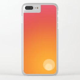 In the imagination's new beginning Clear iPhone Case