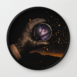 A piece of The Milky Way by GEN Z Wall Clock