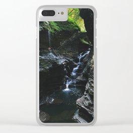 Watkins Glen 2 Clear iPhone Case
