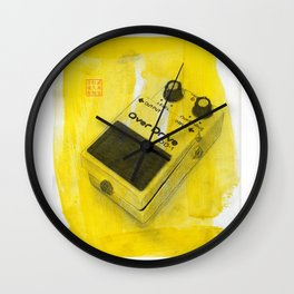 Overdrive Pedal Wall Clock