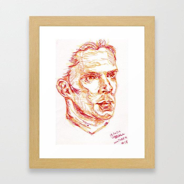 Inktober #18 Framed Art Print