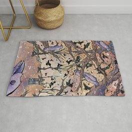 Our Night of the Crows Rug