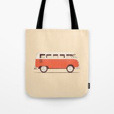 Red Van Tote Bag