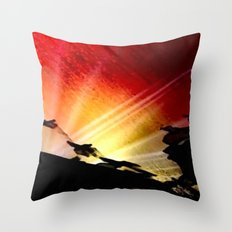 Light and Shaddow. Throw Pillow