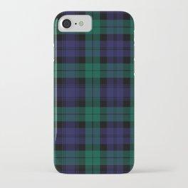 Blackwatch Modern Tartan - Scottish Tartan iPhone Case