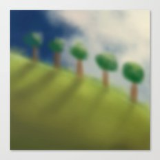 Brushed Nature Canvas Print
