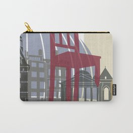 Geneva skyline poster Carry-All Pouch
