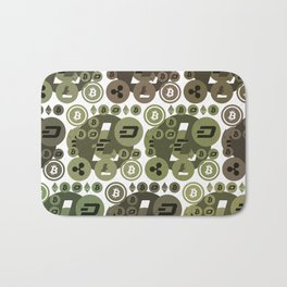 Ethereum, Bitcoin, Dash, Ripple, Litcoin Bath Mat